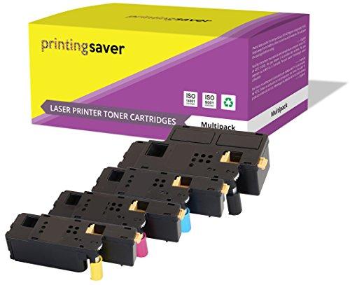 4 Premium Toner kompatibel zu 106R01630 106R01627 106R01628 106R01629 für Fuji Xerox DocuPrint CP105B CP205 CP205W CM205B CM205FW CM205F CP215W - Xerox Fuji Laser-drucker