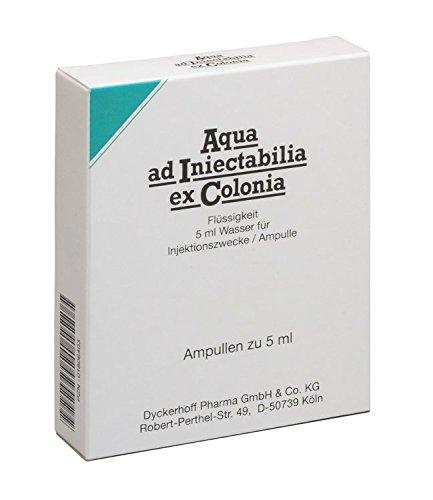 AQUA AD iniectabilia ex Colonia Ampullen 50 ml Ampullen