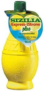 Sizilia Express-Zitrone Plus, 10er Pack (10 x 100 ml)