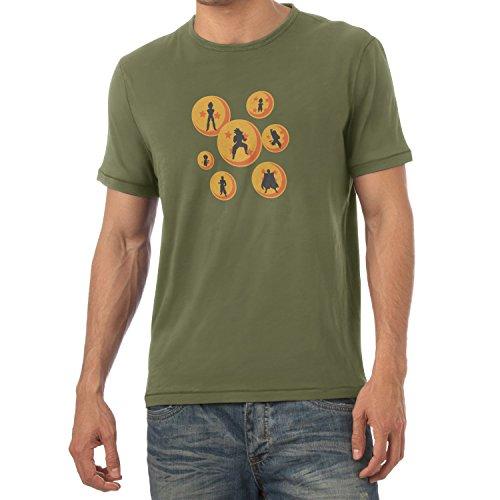 TEXLAB - The Balls - Herren T-Shirt, Größe XXL, (Ball Dragon Costumes Gt)
