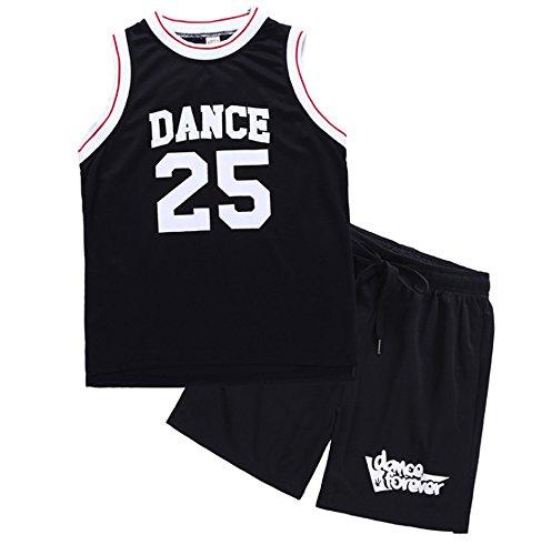 Jungen Sportswear Lose Weste Shorts Basketball Wear Set