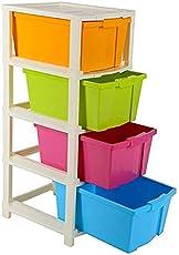 Multicolor Multipurpose Plastic Modular Drawer Storage System