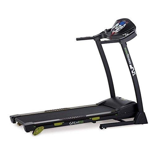 JK Fitness MF255 Tapis Roulant Inclinazione Manuale, Nero
