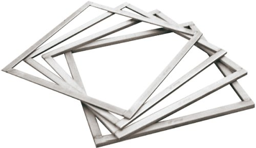 Paderno World Cuisine .125 Inch Stainless Steel Square Ganache Frame by Paderno World Cuisine - Tool Steel Square