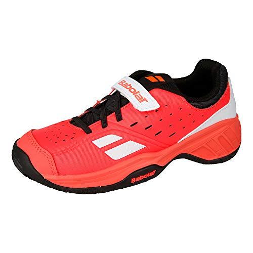 Babolat Bambini Pulsion Allcourt Junior Scarpe da Tennis Scarpa per Tutte Le Superfici Rosa - Nero 32