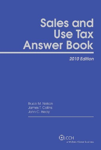 U.S. Master Sales and Use Tax Guide (2010) by CCH Tax Law Editors (2010-05-04)