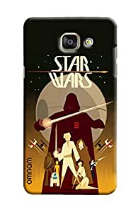 Omnam Star War Lovers Banner Printed Back Cover Case For Samsung Galaxy A5 2016 (A510)