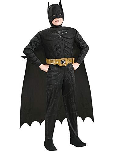 Generique - Batman-Kostüm für Jungen 128/140 (8-10 Jahre)
