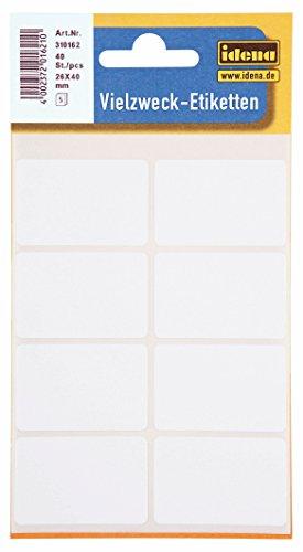 Idena 310162–Multiusos–Etiquetas, multicolor