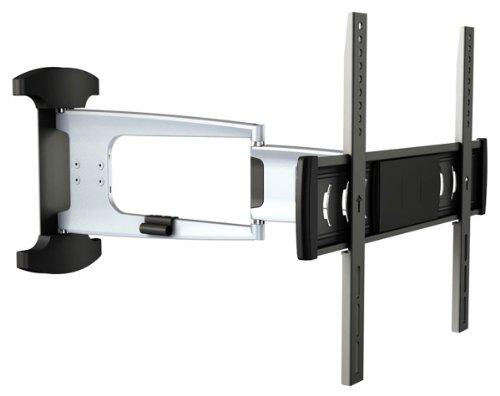 """RICOO Aluminium Wandhalterung TV Schwenkbar Neigbar S1044 Universal LCD Wandhalter Fernsehhalterung Ausziehbar Fernseher Halterung für Flachbildfernseher 76cm/32""""- 140cm/55"""" Zoll VESA 200x200 400x400"""
