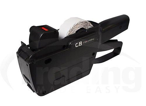 Preisauszeichner Etikettiermaschine Set 7,000 Etiketten 26 x 12 & Tinte (26x12mm Price Gun)