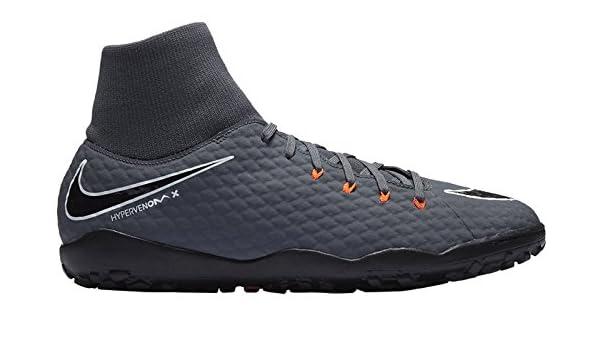 3356797c2 Nike Hypervenom Phantom X III Academy DF TF - Grey/Black, Men, Grey, Black,  44 1/2: Amazon.co.uk: Sports & Outdoors