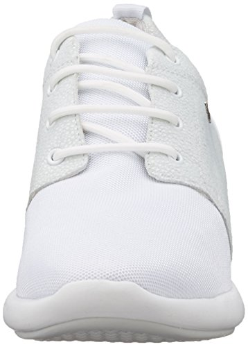 Geox D Ophira A, Sneakers Basses Femme Blanc Cassé (Off White/Off Whitec1244)