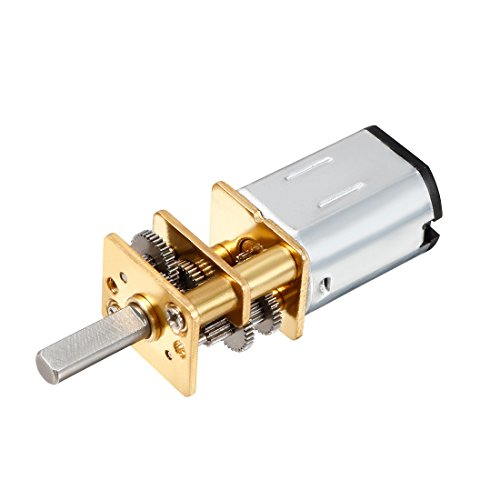 Sourcingmap DC 6 V 10RPM Hohes Drehmoment 3 mm Schaft Dia Low Speed Lötzinn Gear Box Motor (2 Speed Ersatz-motor)