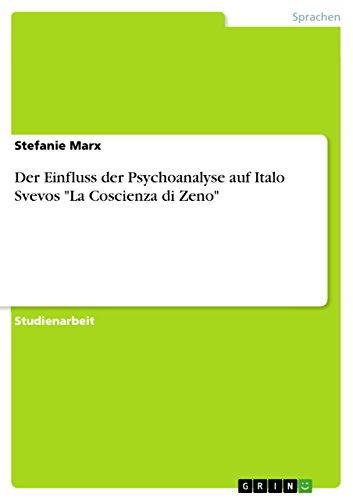 Der Einfluss der Psychoanalyse auf Italo Svevos