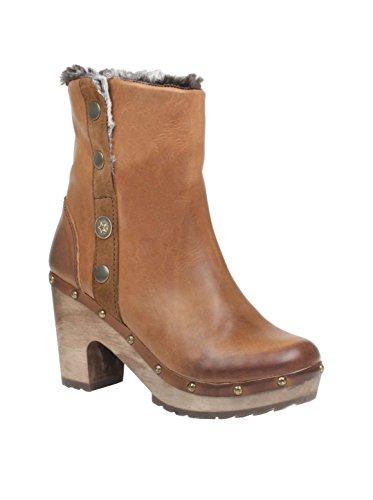 CUBANAS Tribal510, bottes femme Camel