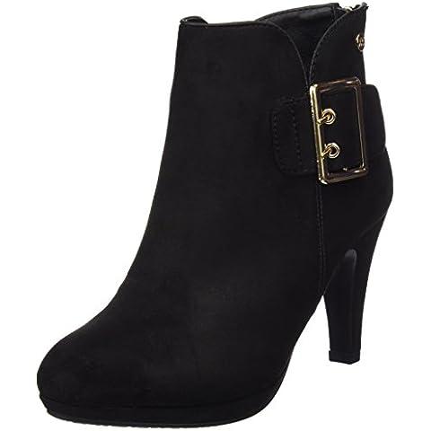 Xti Botin Sra. Antelina Combinada 30219, Zapatos De Tacón, Mujer