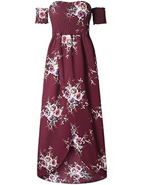 Super Modern - Vestido - trapecio - Floral - para mujer
