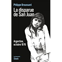 La disparue de San Juan (Essais - Documents)