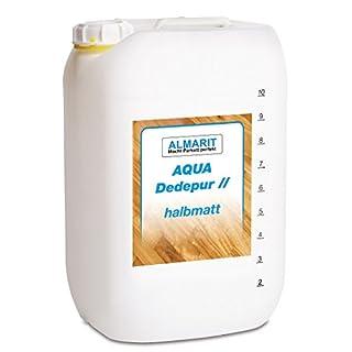 Almarit Aqua Dedepur halbmatt 10 Liter, 2K-Parkettsiegel auf Rein-Polyurethan-Basis