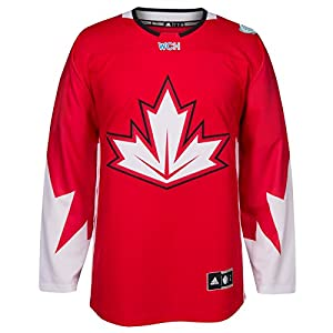 Team Canada 2016 World Cup of Hockey Adidas Men's Premier Red Jersey Trikot