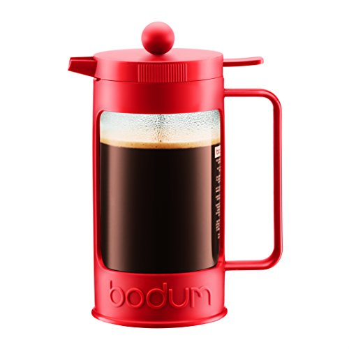 bodum-11376-294-bean-cafetire-piston-avec-8-tasses-verre-rouge-10-l