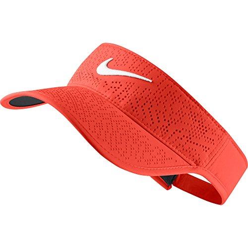 Nike W NK Visor Tech Casquette de Golf pour Femme, Orange (Max Orange/White), Taille Unique