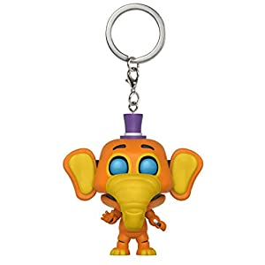 Funko Keychain Five Nights at Freddys Llavero con Anilla Orville Pizza Simulator, Multicolor (32158)