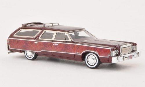 chrysler-town-country-metallic-dunkelrot-wood-optics-1976-model-car-ready-made-neo-187-by-chrysler