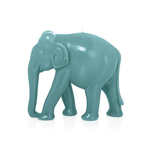Wiedemann-Big Edition Elefante, Cera, Turquesa, 20x 22cm