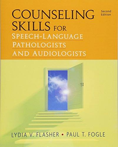 Free Download Counseling Skills For Speech Language Pathologists And