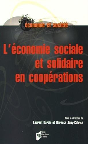 L'économie sociale et solidaire en coopérations par Collectif