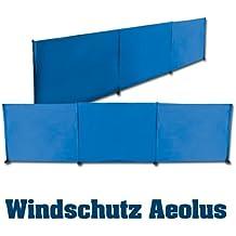 outdoorer Windschutz Strand Aeolus inkl. 14 Sandheringe, blau, UV 60, leicht, kleines Packmaß