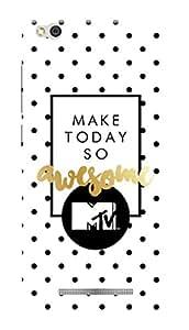 MTV Gone Case Mobile Cover for Xiaomi Redmi 3