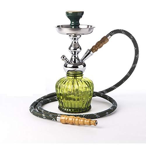 MYA Shisha QT - 35 cm - Edle Wasserpfeife - Olive grün 1-Schlauch Hookah (Mya Shisha)