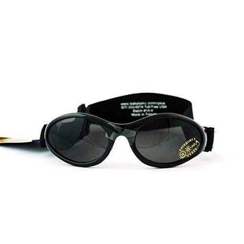 Adventure Banz Baby Sonnenbrille, Midnight Black, 0–2Jahre Farbe: Midnight Schwarz Größe: 0–2Jahre (Baby/Babe/Infant–Kleinen)