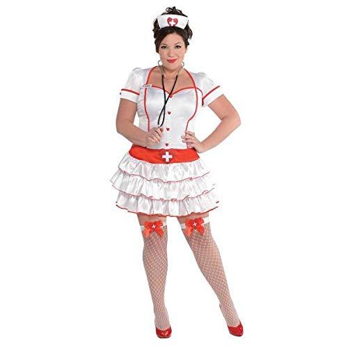 Krankenschwester Kostüm Damen Gr. ()