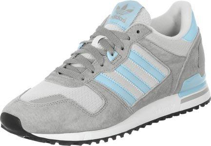 adidas ZX 700, Sneakers da Uomo weiß grau türkis