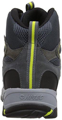 Hi-Tec Altitude Sport I Waterproof Botte De Marche Gris - Gris anthracite/gris/jaune citron