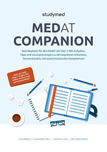 MedAT Companion: Dein Begleiter für den MedAT 2019 mit über 2000 Aufgaben - Neu überarbeitete Auflage