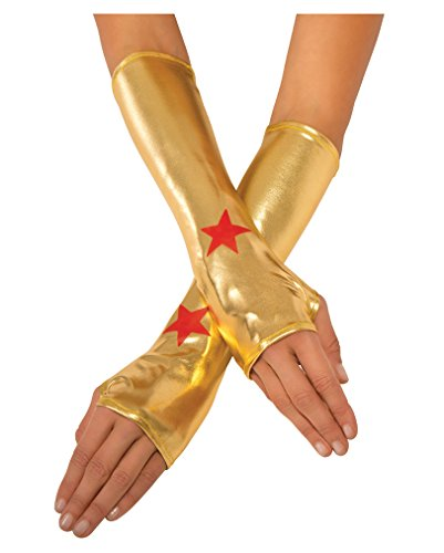 Wonder Woman Handschuhe (Kostüme Con Comic Womens)