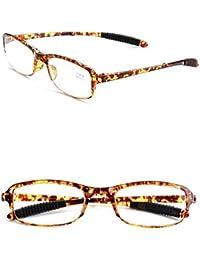 832a42ddc0 KOMNY Gafas de Lectura BLU-Ray Anti-Azul Gafas de Lectura Masculinas Doblar  lejos y Cerca de Doble Uso Inteligente…
