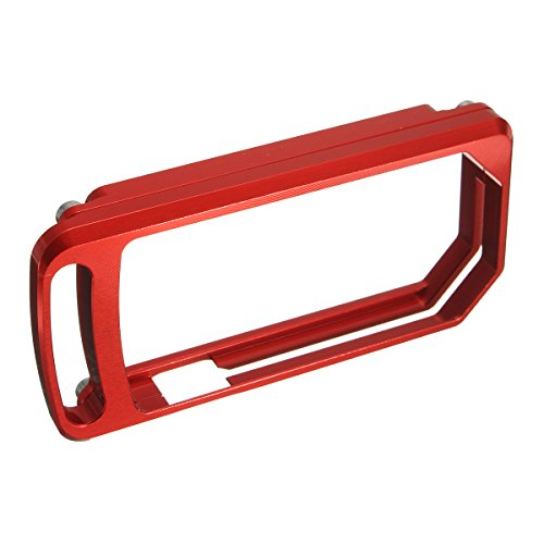 Alamor CNC Key Chain Case Cover For Ducati Diavel 1200 2011-2012 2013 2014  2015 2016 - Red
