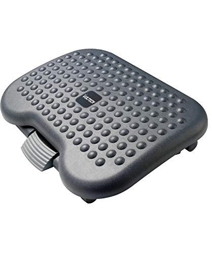 Vultech ft-02 poggiapiedi ergonomico con altezza regolabile