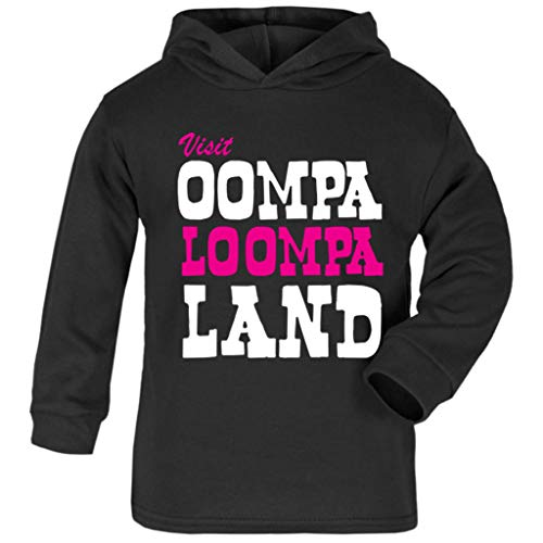 Cloud City 7 Charlie and The Chocolate Factory Oompa Loompa Land Baby and Kids Hooded - Baby Oompa Loompa Kostüm