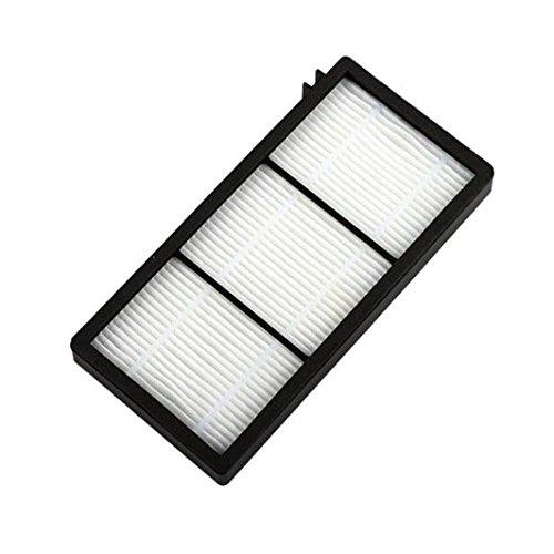 Reemplazo del filtro Hepa, LanowoTrue Hepa purificador de aire de reemplazo del filtro totalmente compatible para iRobot Roomba serie 800 870