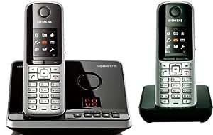 Gigaset  S795 Duo Téléphone sansfil DECT avec répondeur Gris Acier