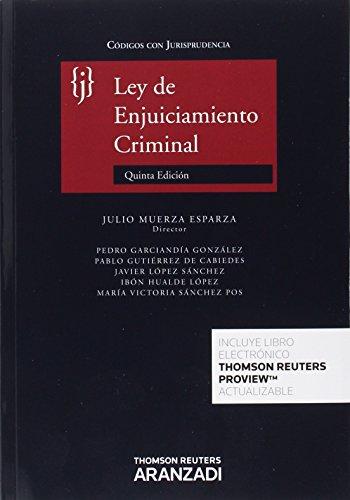 Ley de enjuiciamiento criminal (5ª ed.) (Código con Jurisprudencia)