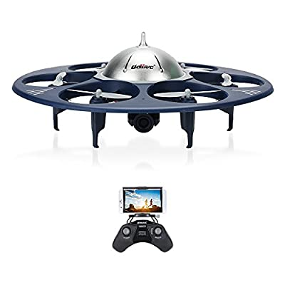 GoolRC Upgraded U845 WIFI FPV 720P HD Camera Drone VR RC RTF Quadcopter with Altitude Hold One Key Control Flight Track Phone APP Gravity Control UFO Flight Toy