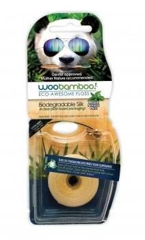 Hilo dental biodegradable WooBamboo, con...